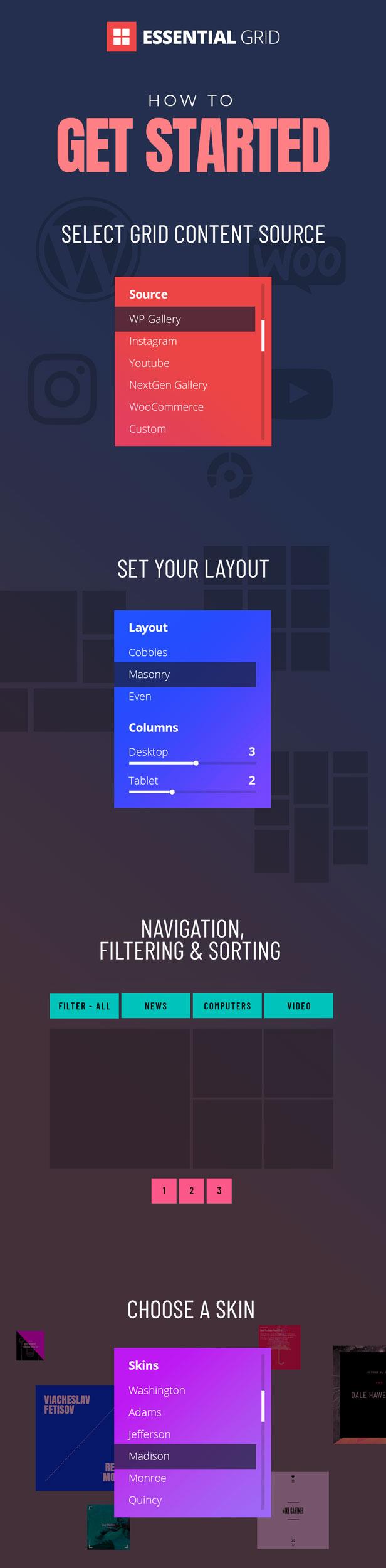 Essential Grid Gallery WordPress Plugin - 3