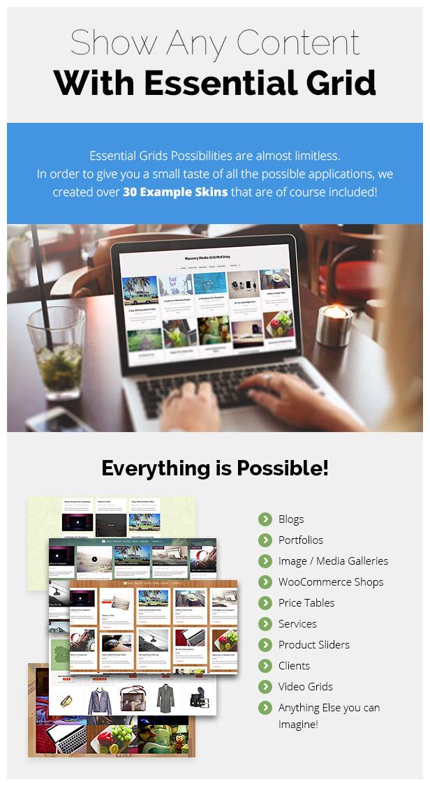 Essential Grid WordPress Plugin 36