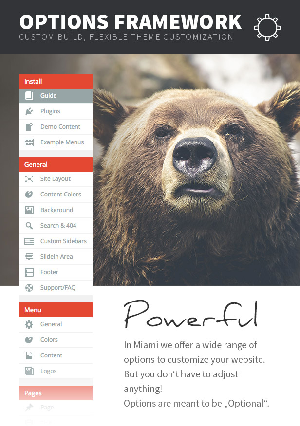 Miami - Multi & One Page WordPress Theme