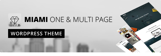 Miami Theme WordPress