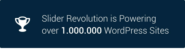 Slider Revolution 1.000.000 WordPress Sites