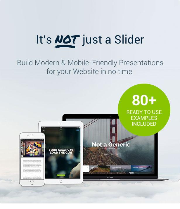Slider Revolution Not just a Slider