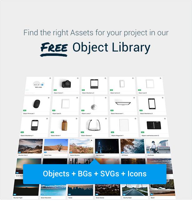 Slider Revolution Object Library
