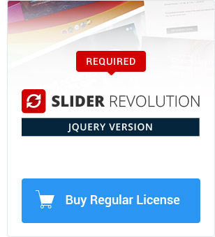 Purchase Slider Revolution jQuery Plugin