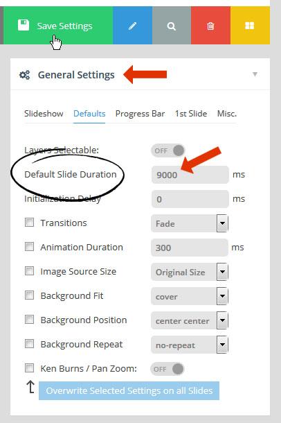 how to make a slide in slider revolution