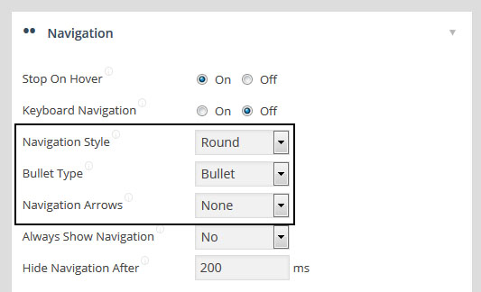 navigation bridge visibility