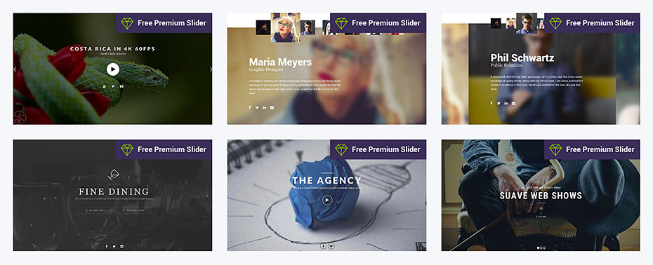 Select One Or More Free Premium Slider Templates You Would Like To See Next