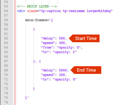 Setting up your Slider Timeline – ThemePunch