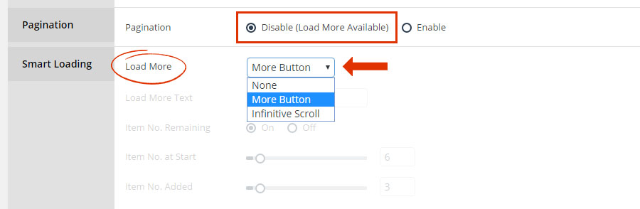 """Columns, Rows, Pagination and """"Load More"""" – ThemePunch"""