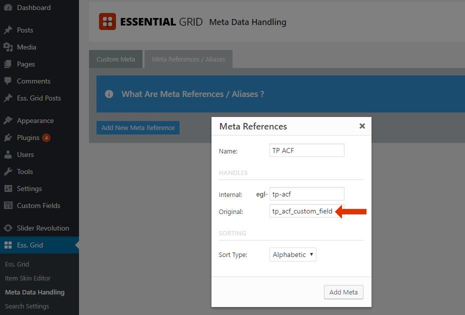 Using Advanced Custom Fields with Essential Grid – ThemePunch