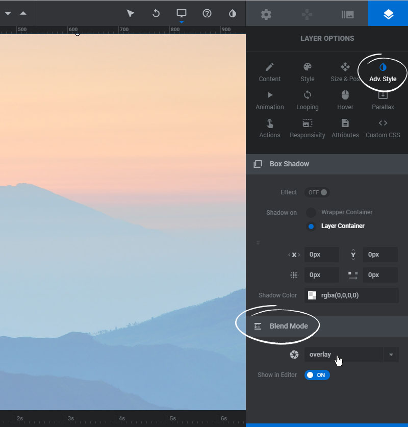 How to add a semi-transparent overlay – ThemePunch