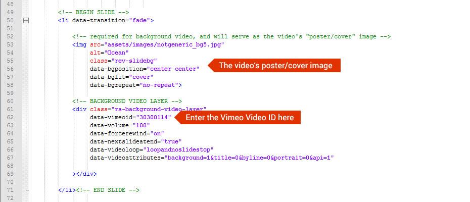 Background Image & Video – ThemePunch